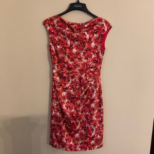 Ann Taylor Blossom Sheath Dress Size 4